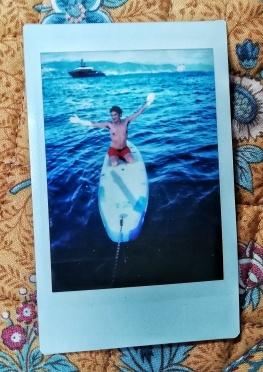 Paddleboard Polaroid = Polarboard? Paddloid?